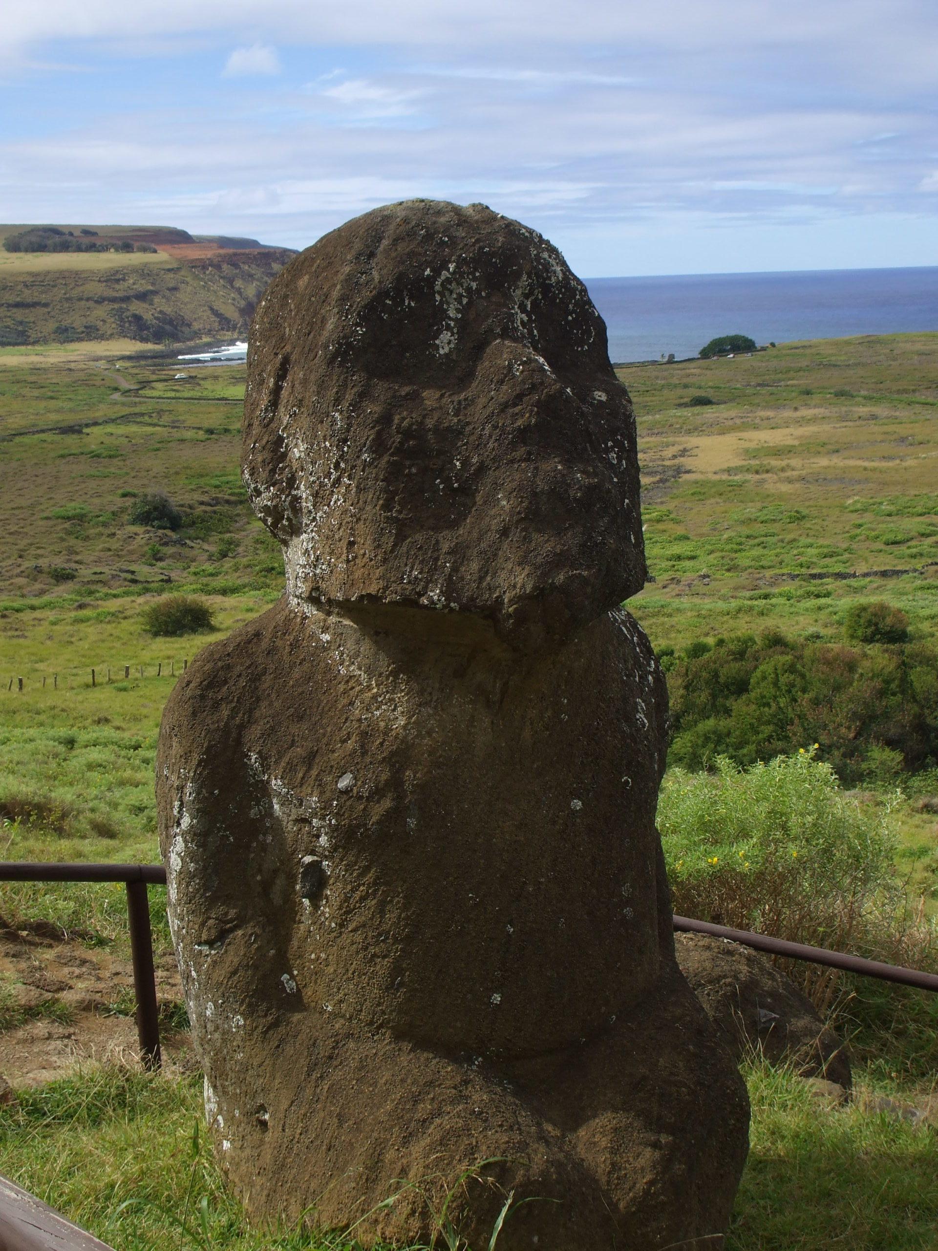 Moai más antiguo de Pascua