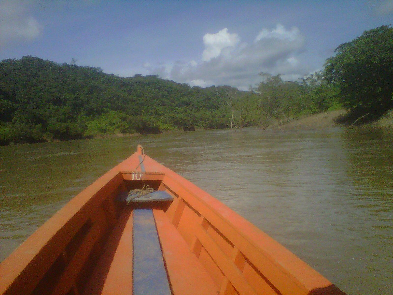 Rio Urubamba, frontera México y Guatemala